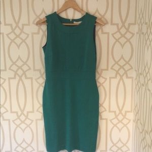 Banana Republic Kelly Green Sheath Dress, 4